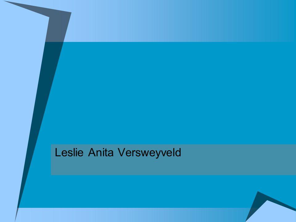 Leslie Anita Versweyveld
