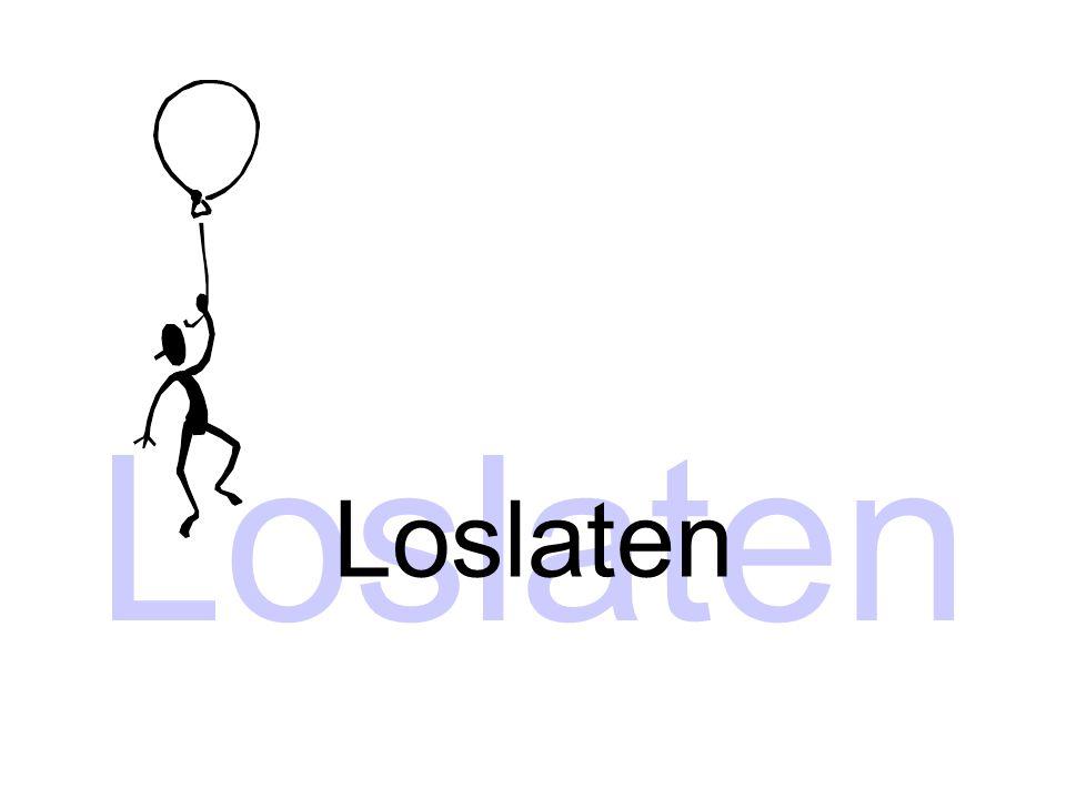 Loslaten Loslaten Thema: loslaten