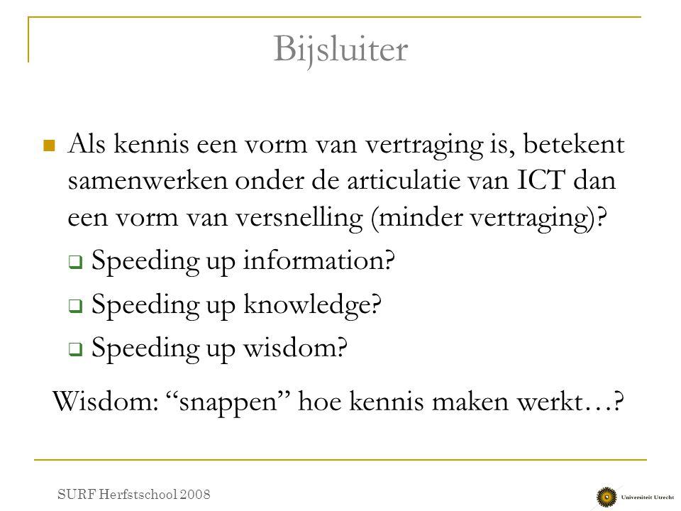 Wisdom: snappen hoe kennis maken werkt…