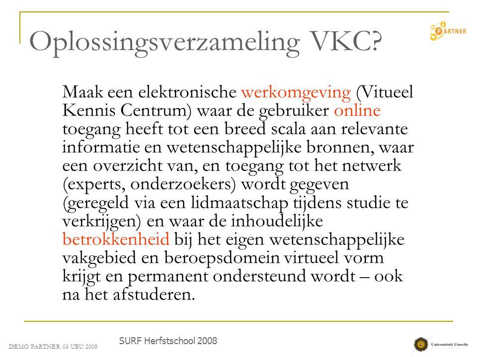 Oplossingsverzameling VKC