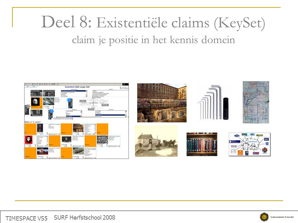 Deel 8: Existentiële claims (KeySet) claim je positie in het kennis domein