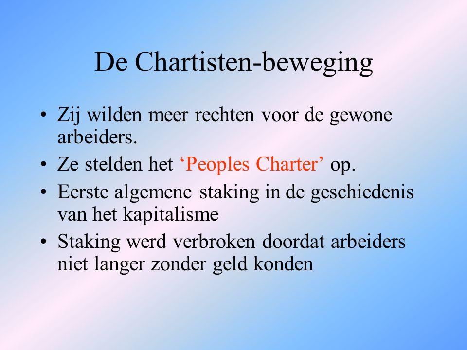 De Chartisten-beweging