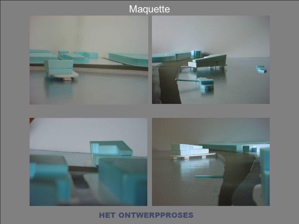 Maquette HET ONTWERPPROSES