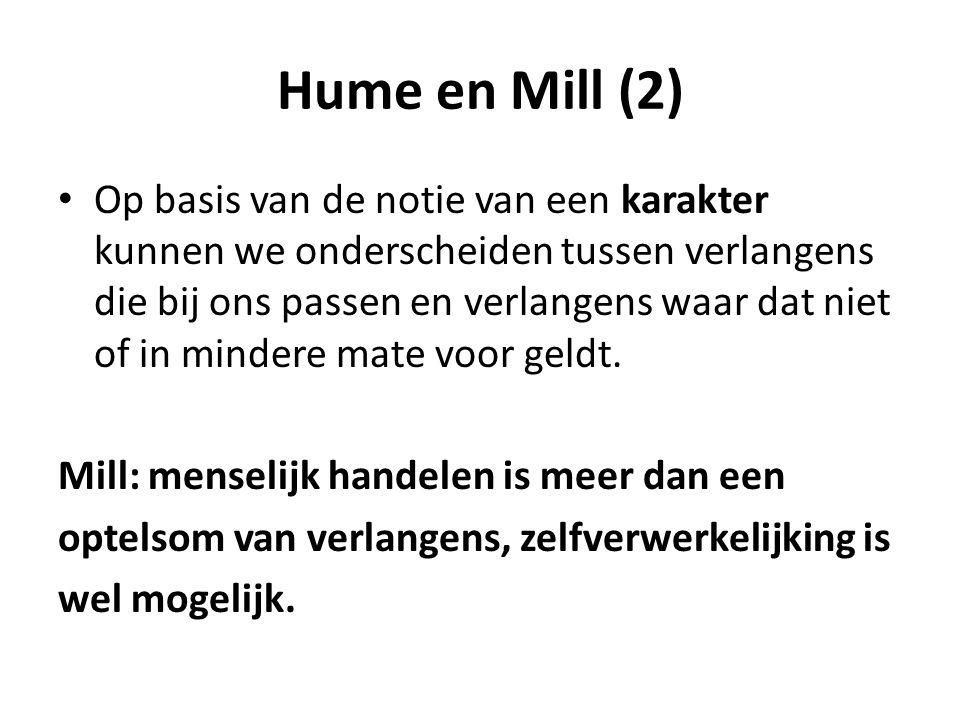 Hume en Mill (2)