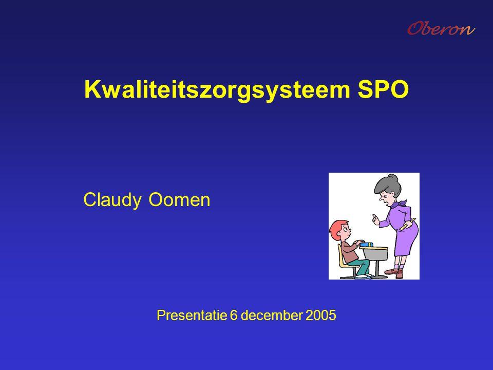 Kwaliteitszorgsysteem SPO
