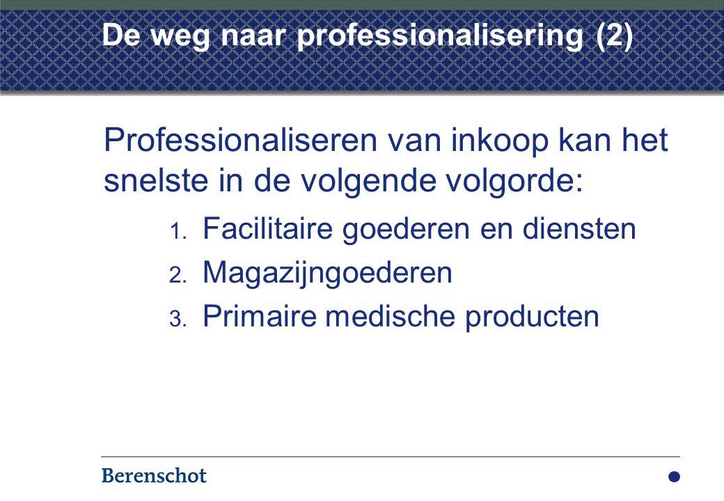 De weg naar professionalisering (2)