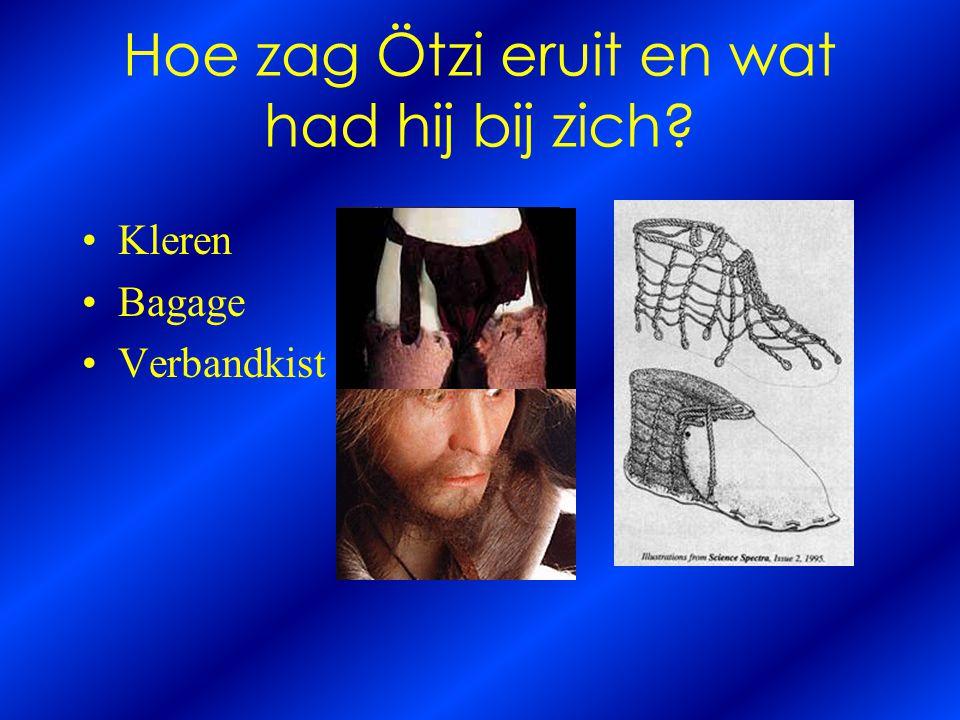 Hoe zag Ötzi eruit en wat had hij bij zich