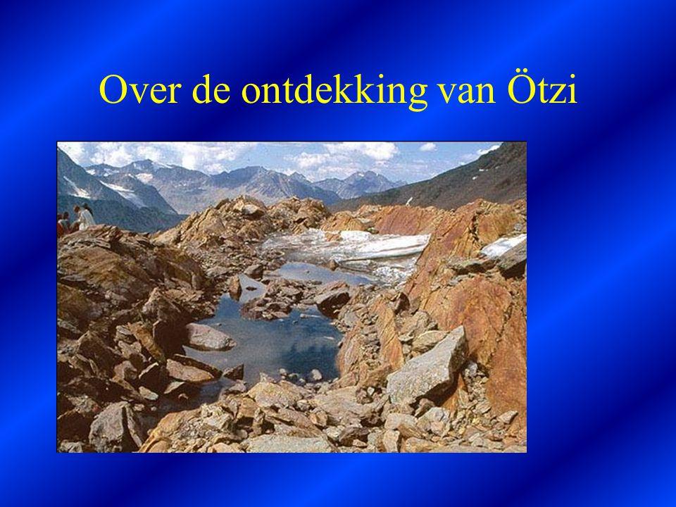 Over de ontdekking van Ötzi