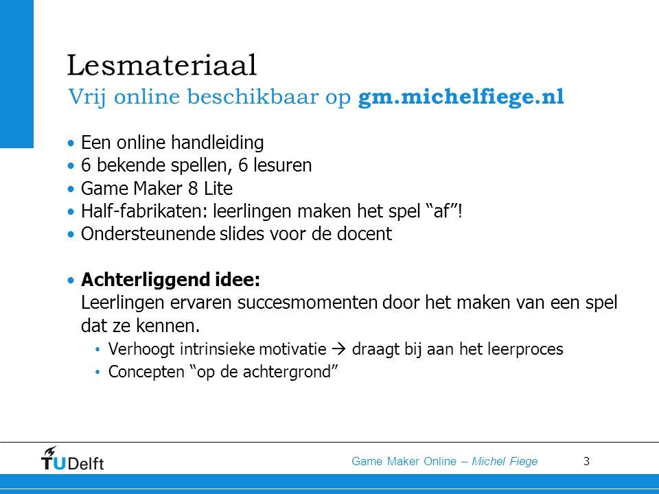 Lesmateriaal Vrij online beschikbaar op gm.michelfiege.nl