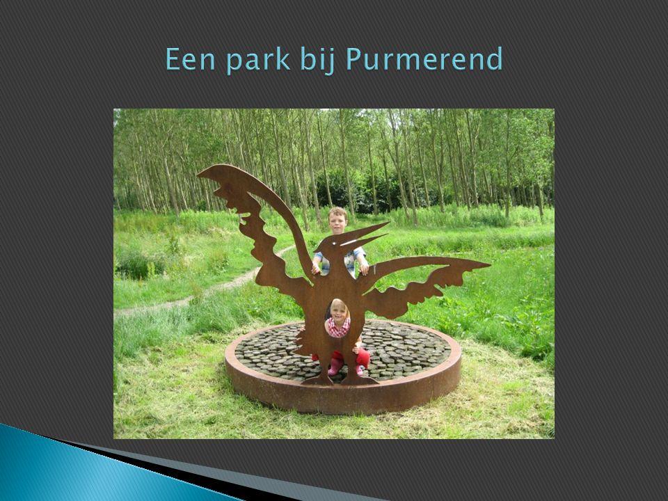 Een park bij Purmerend