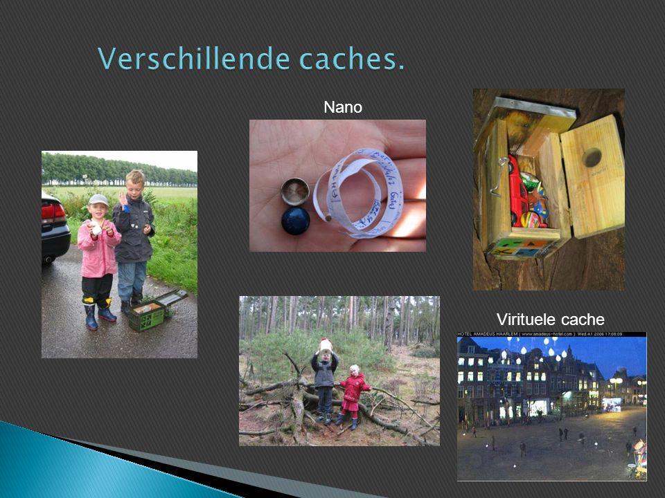 Verschillende caches. Nano Virituele cache