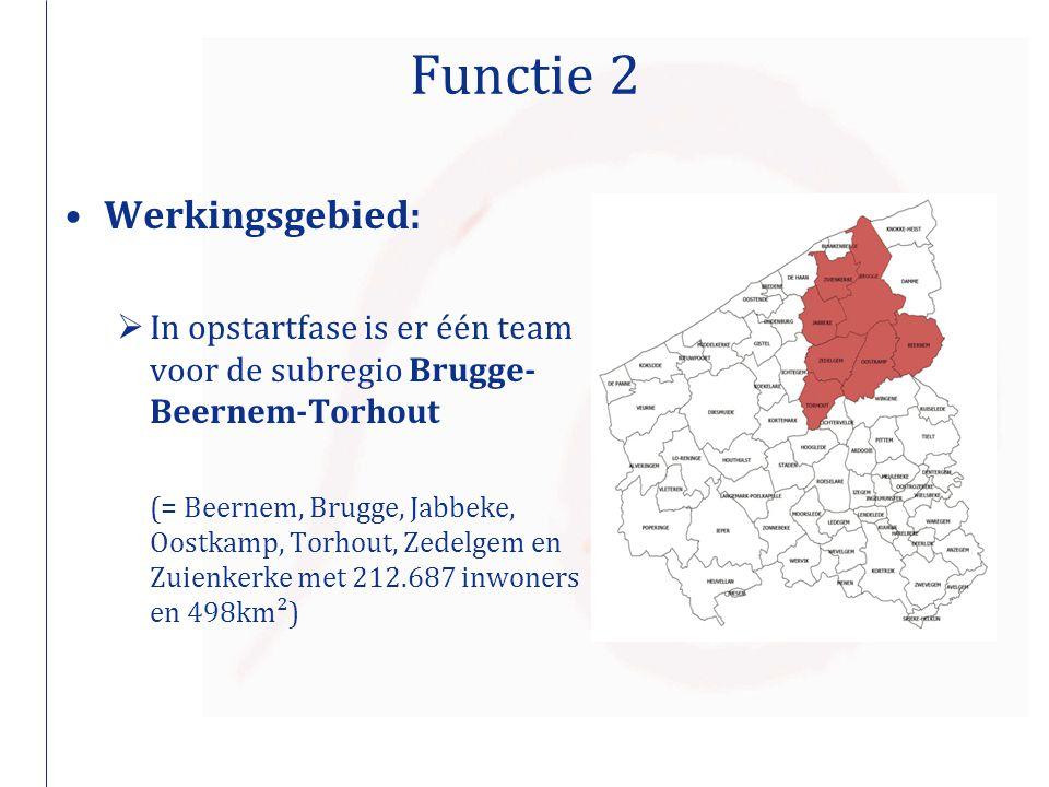 Functie 2 Werkingsgebied: