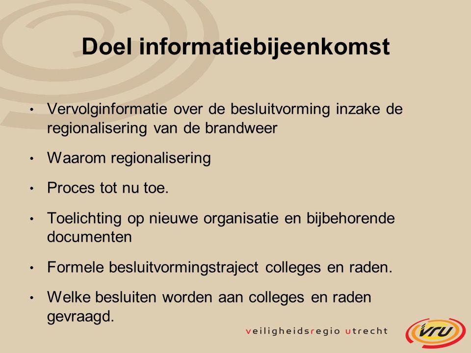 Doel informatiebijeenkomst