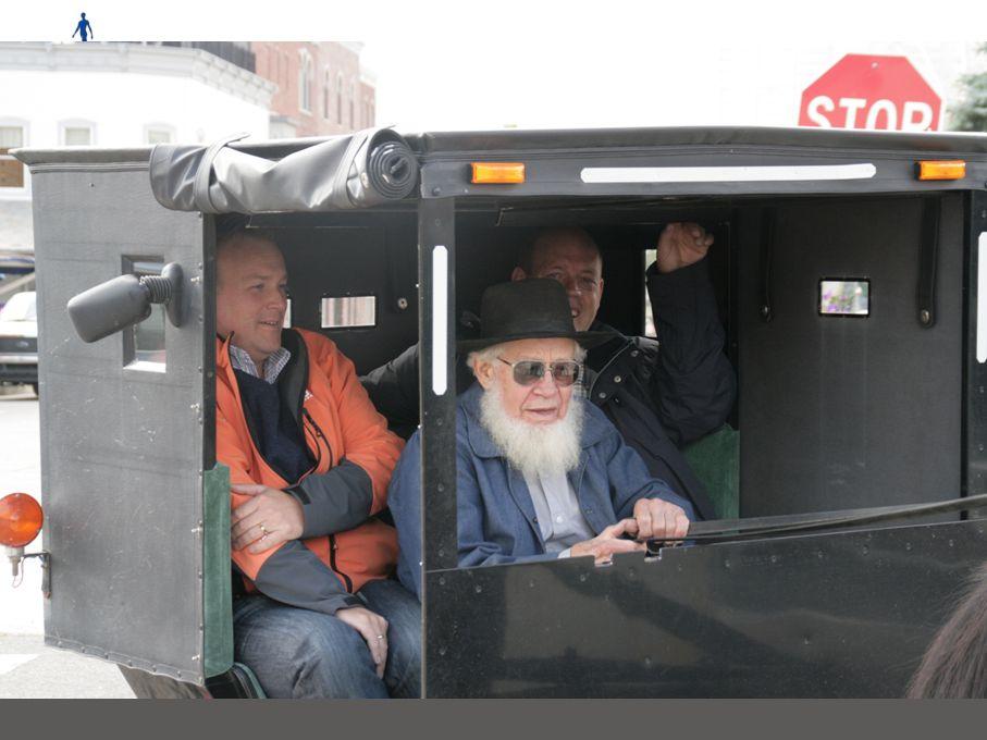 Woensdag 12 US oude stijl Ochtend: Bezoek Amish opfokbedrijf