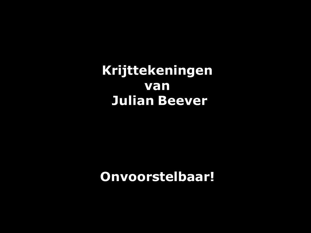 Krijttekeningen van Julian Beever Onvoorstelbaar!