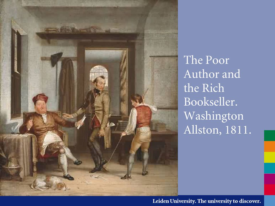The Poor Author and the Rich Bookseller. Washington Allston, 1811.