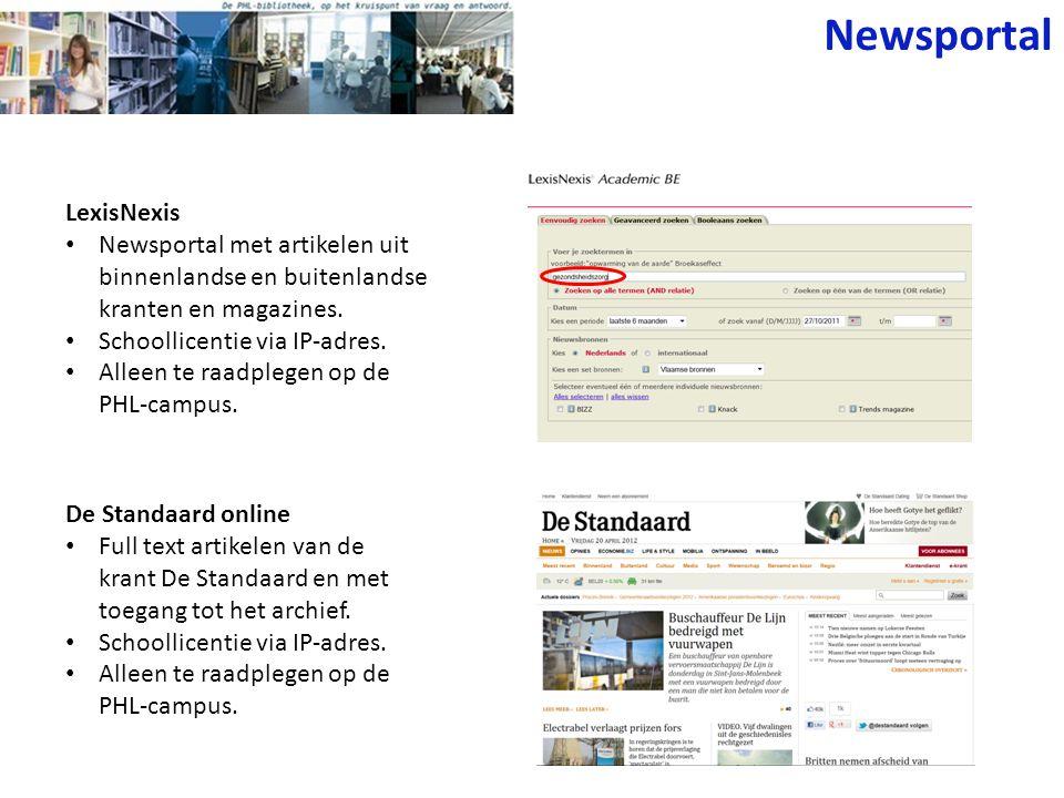 Newsportal LexisNexis
