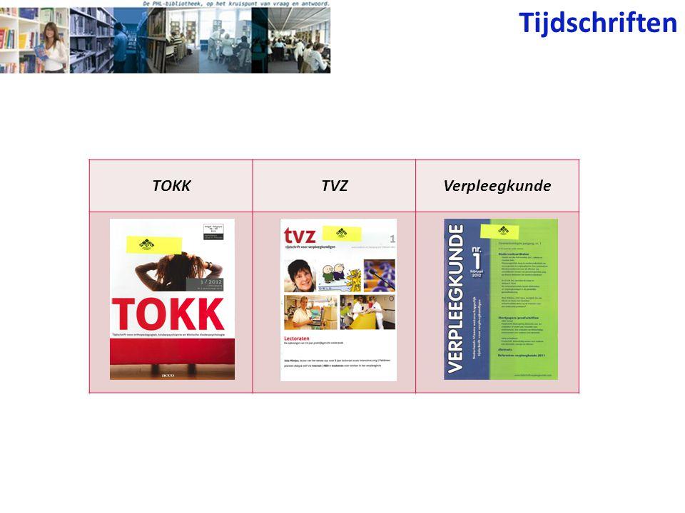Tijdschriften TOKK TVZ Verpleegkunde