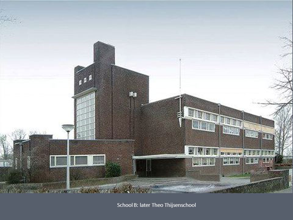 School B: later Theo Thijsenschool
