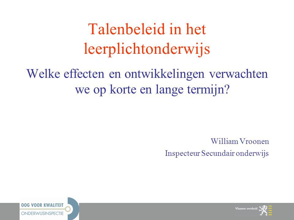 Talenbeleid in het leerplichtonderwijs
