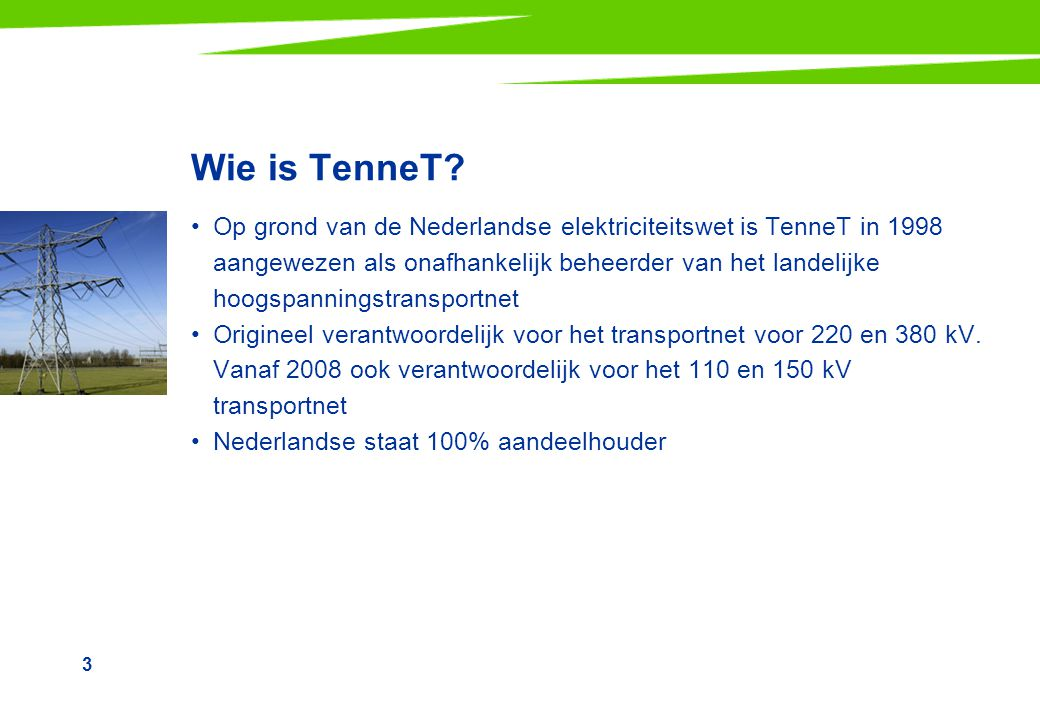Wie is TenneT