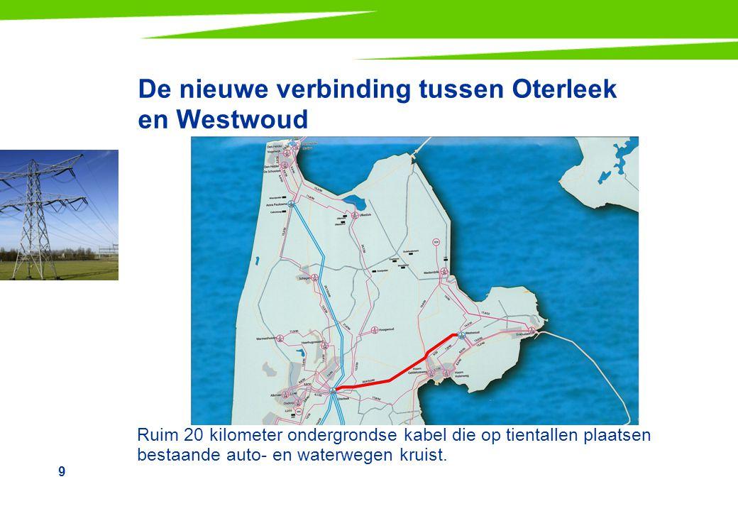 De nieuwe verbinding tussen Oterleek en Westwoud