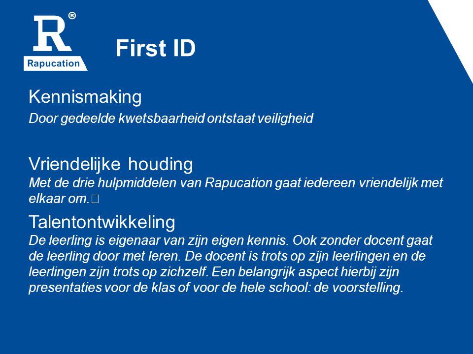 First ID Kennismaking. Door gedeelde kwetsbaarheid ontstaat veiligheid.