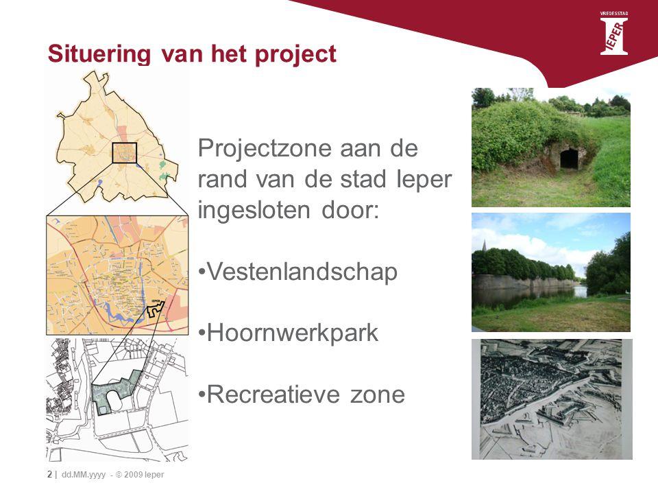 Situering van het project
