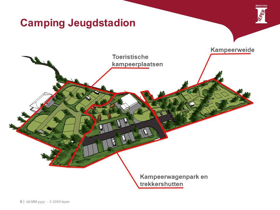 Camping Jeugdstadion Kampeerweide Toeristische kampeerplaatsen