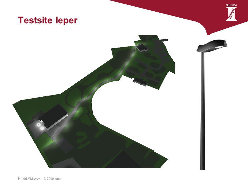 Testsite Ieper 9 | dd.MM.yyyy - © 2009 Ieper