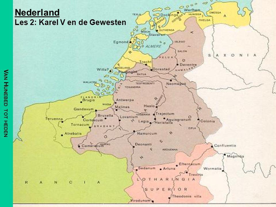Nederland Les 2: Karel V en de Gewesten