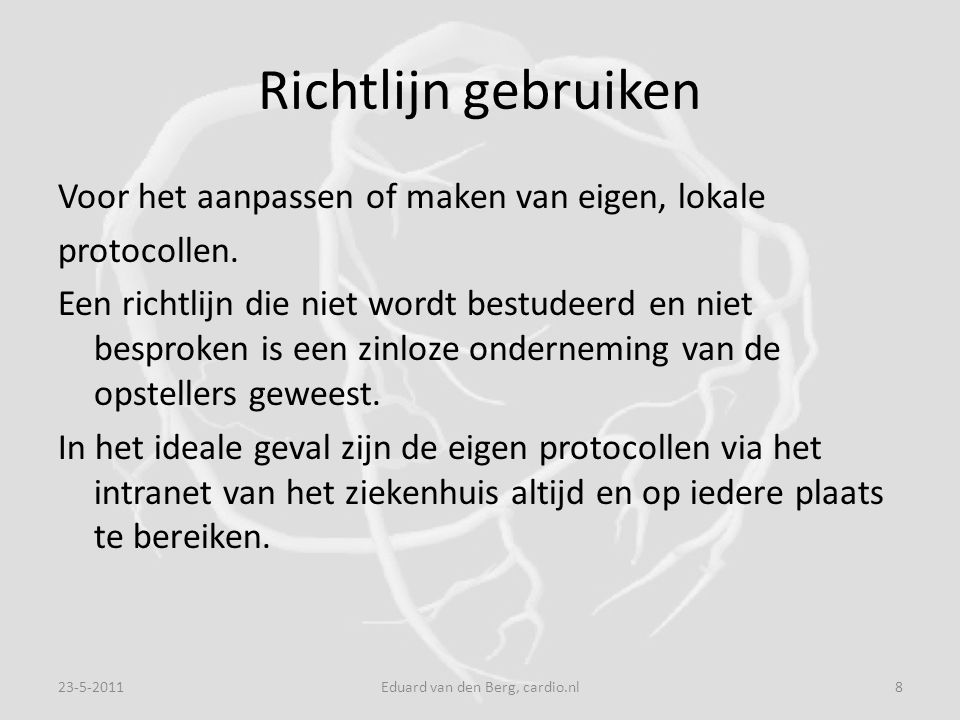 Eduard van den Berg, cardio.nl