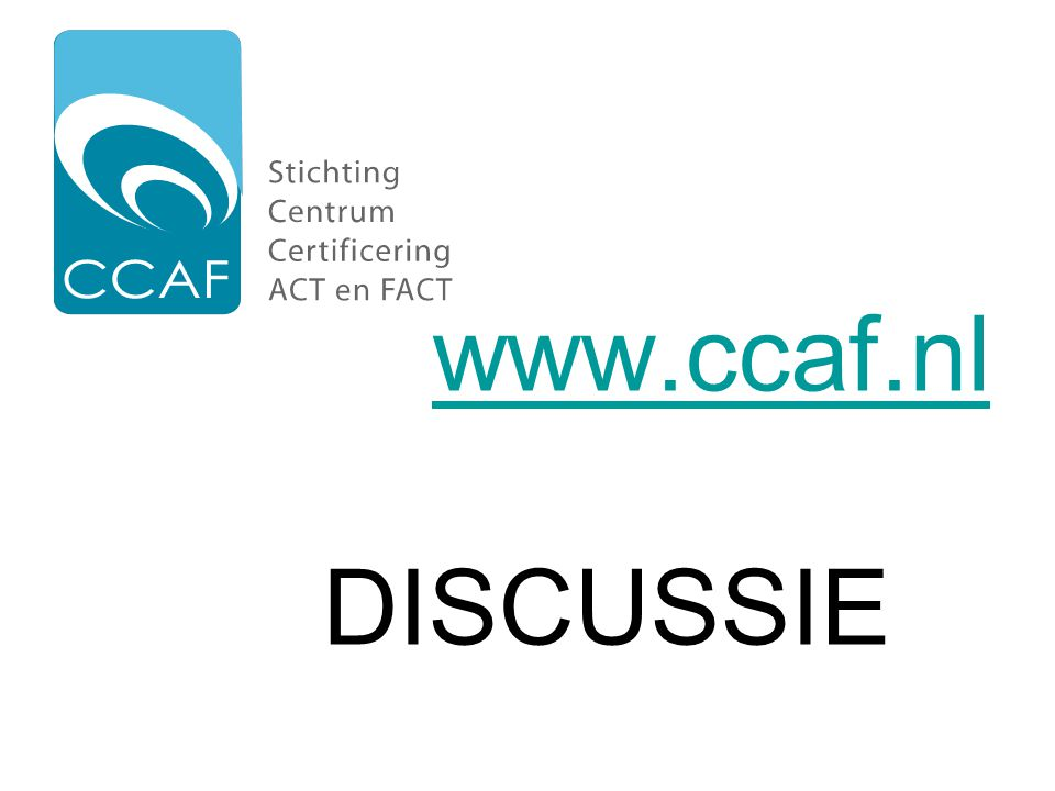 www.ccaf.nl DISCUSSIE