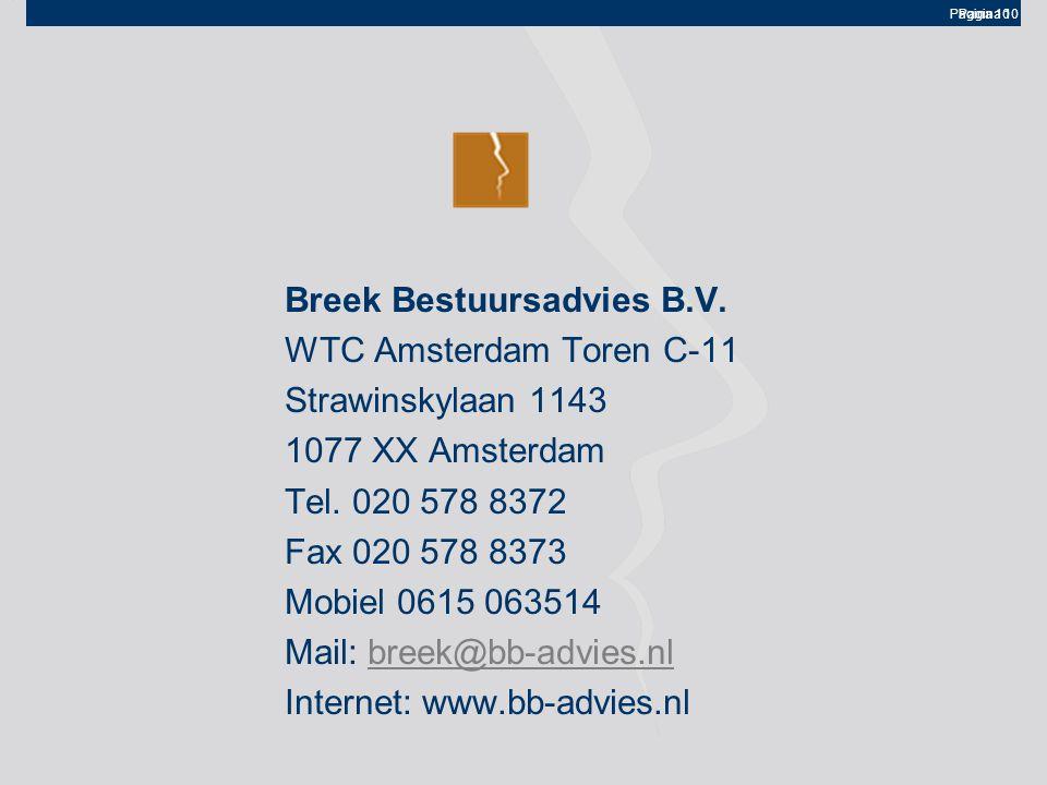 Breek Bestuursadvies B.V.