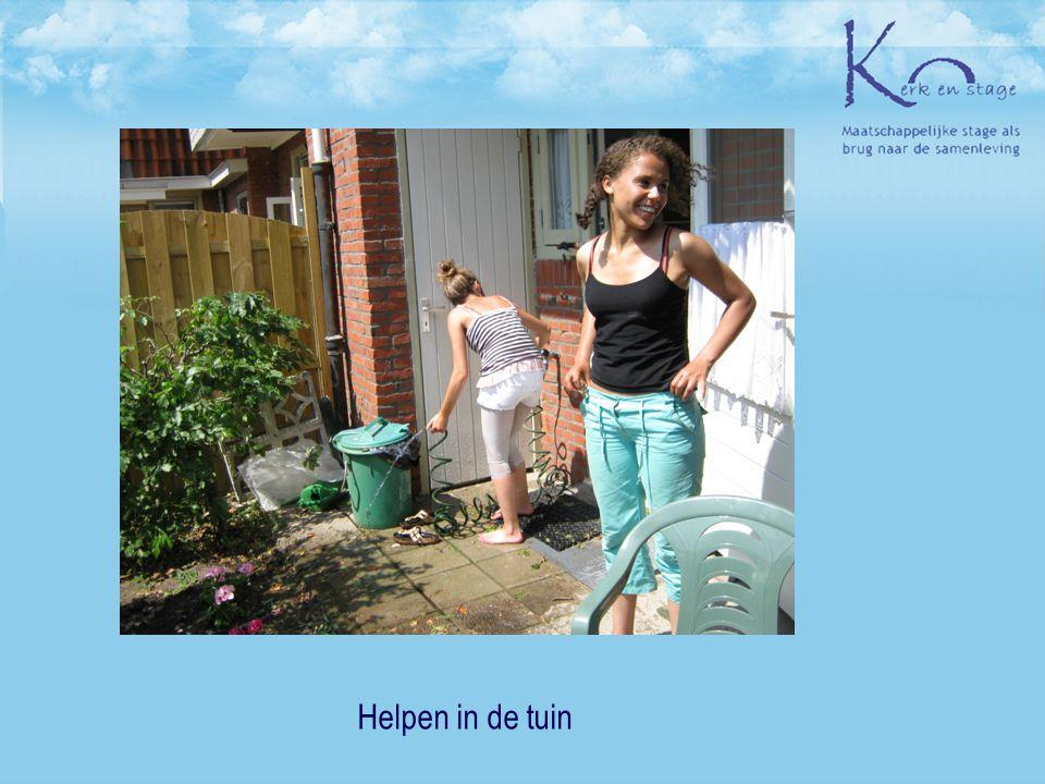 Helpen in de tuin 19