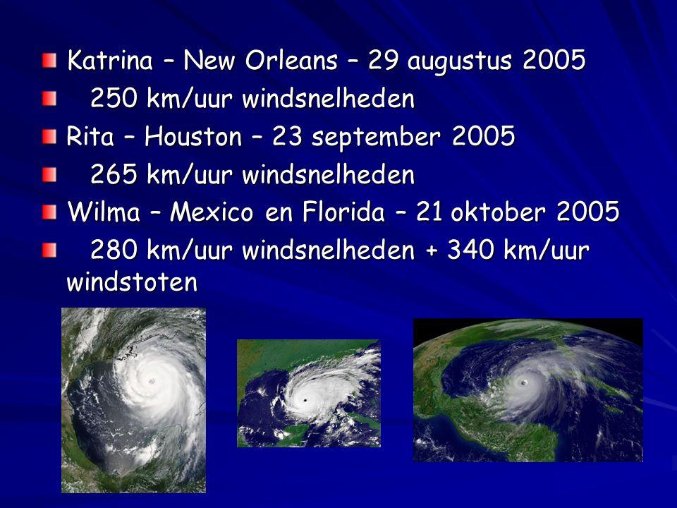 Katrina – New Orleans – 29 augustus 2005