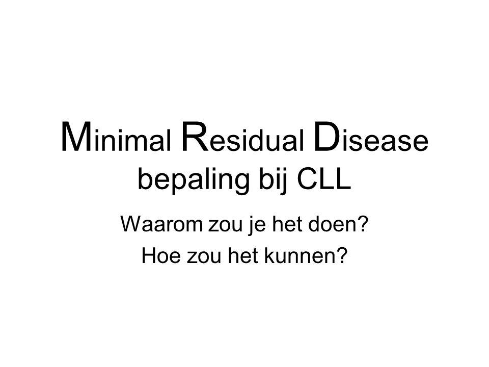 Minimal Residual Disease bepaling bij CLL