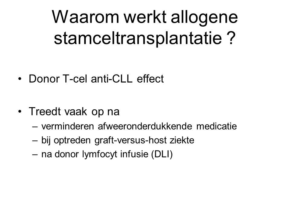 Waarom werkt allogene stamceltransplantatie