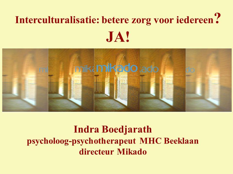 Interculturalisatie: betere zorg voor iedereen