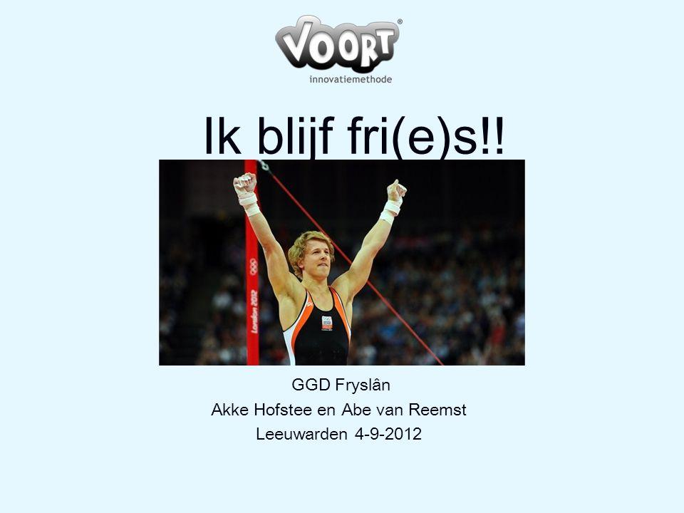 GGD Fryslân Akke Hofstee en Abe van Reemst Leeuwarden 4-9-2012