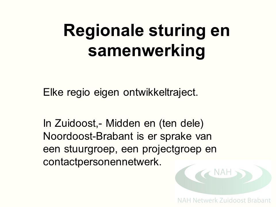 Regionale sturing en samenwerking