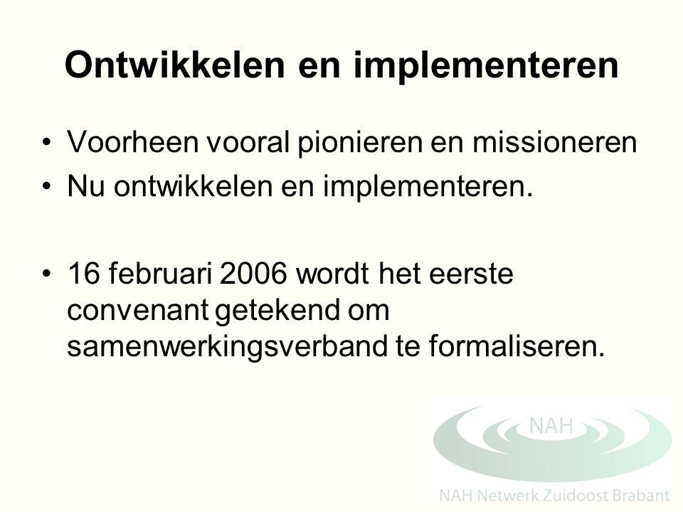Ontwikkelen en implementeren