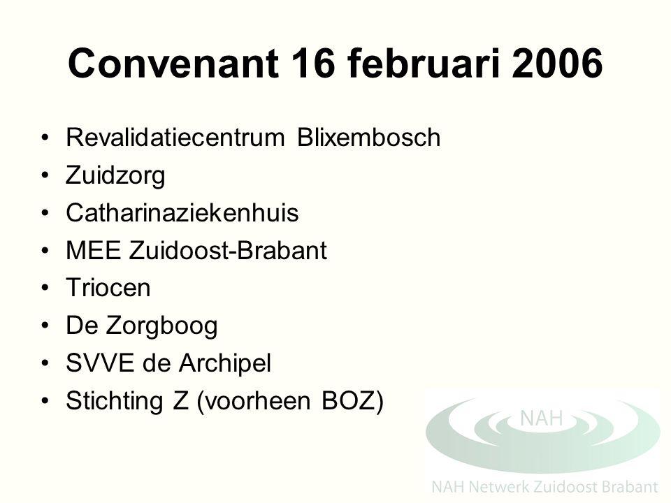 Convenant 16 februari 2006 Revalidatiecentrum Blixembosch Zuidzorg