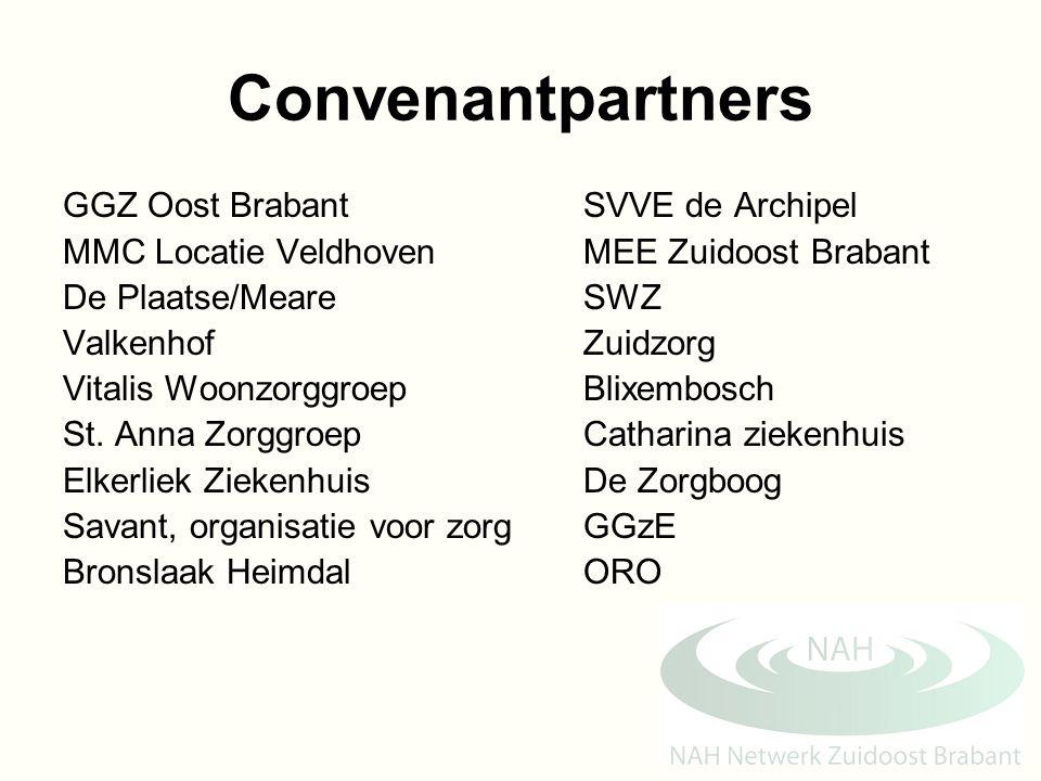Convenantpartners GGZ Oost Brabant SVVE de Archipel
