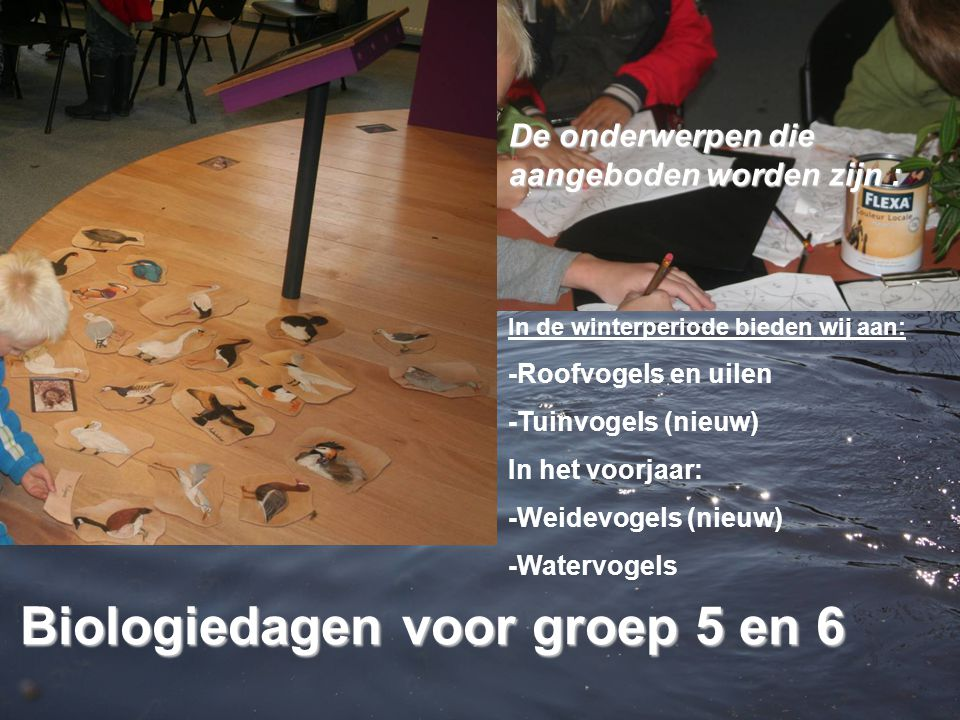 Biologiedagen voor groep 5 en 6