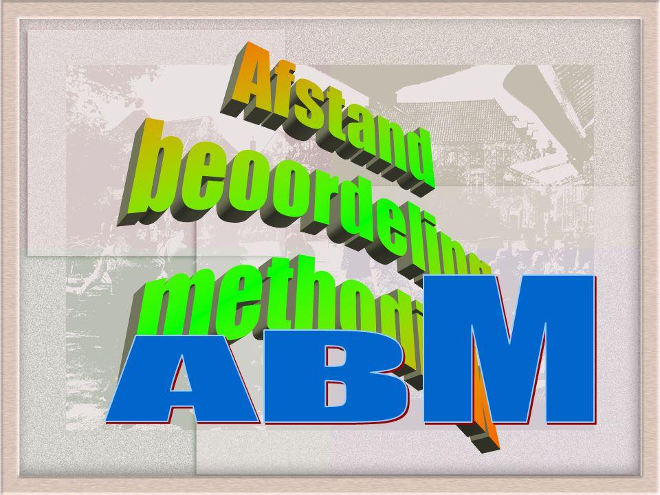 Afstand beoordeling methodiek M B A