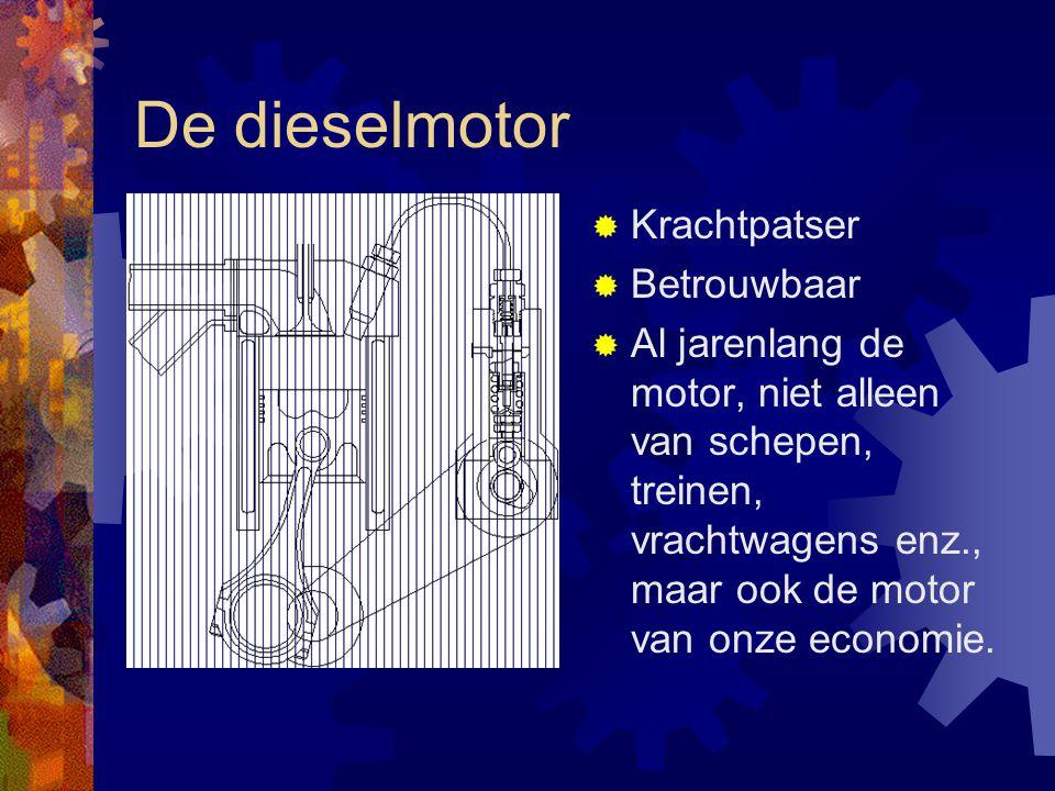 De dieselmotor Krachtpatser Betrouwbaar