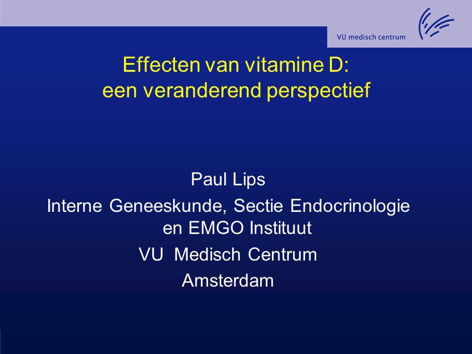 Effecten van vitamine D: een veranderend perspectief