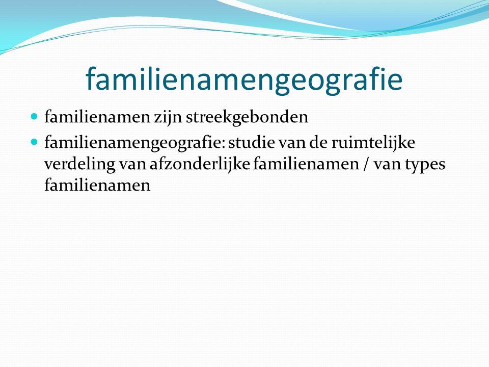 familienamengeografie