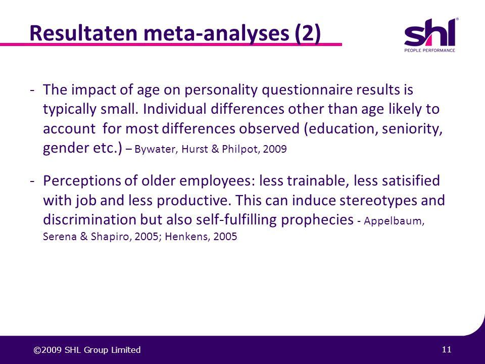 Resultaten meta-analyses (2)